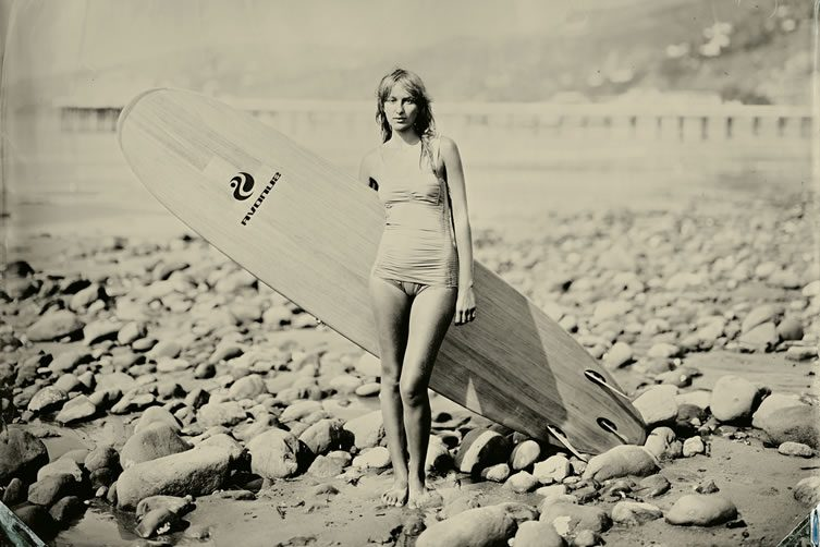 Joni Sternbach, Surf Site Tin Type