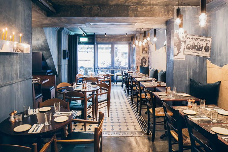 Suvlaki shoreditch london brick lane greek restaurant