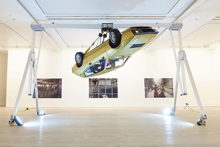 Installation View, Conrad Shawcross, Seana Gavin