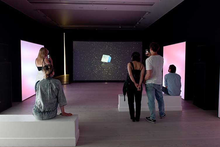 Installation View, Lost Souls of Saturn