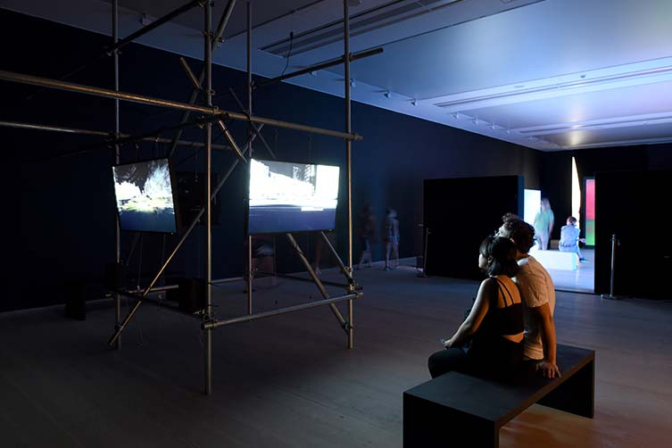 Installation View, Liam Young, Lost Souls of Saturn