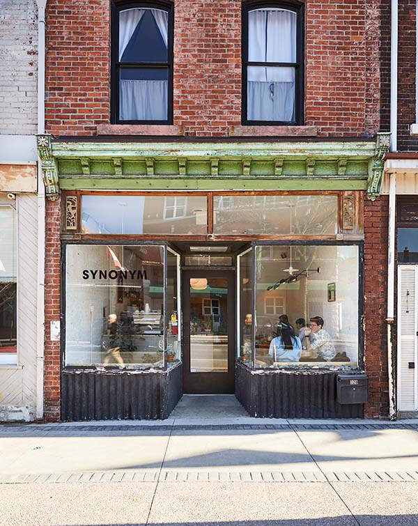 SYNONYM Ontario, Café-Resto-Bar-Bookshop Celebrating Art, Design and Culture