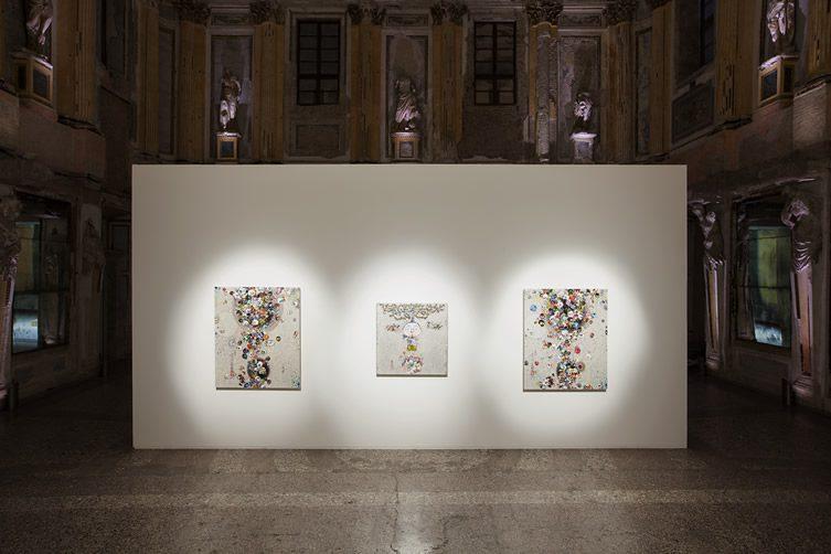 Takashi Murakami — Arhat Cycle at Sala delle Cariatidi, Milan
