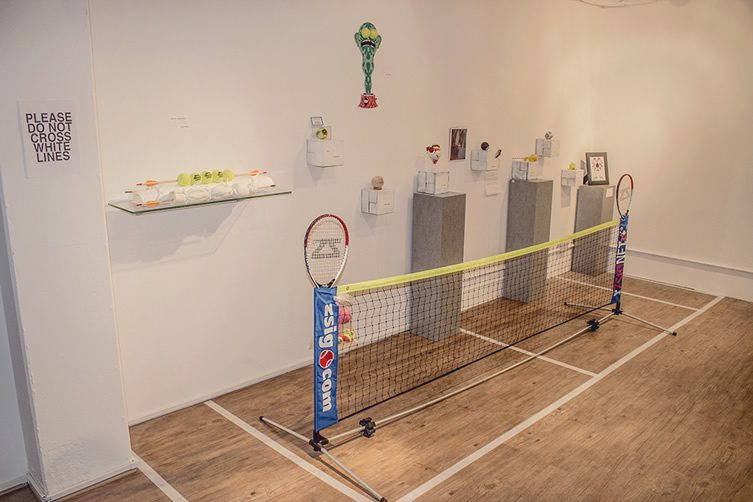 TAB (Tennis Art Ball) Exhibition