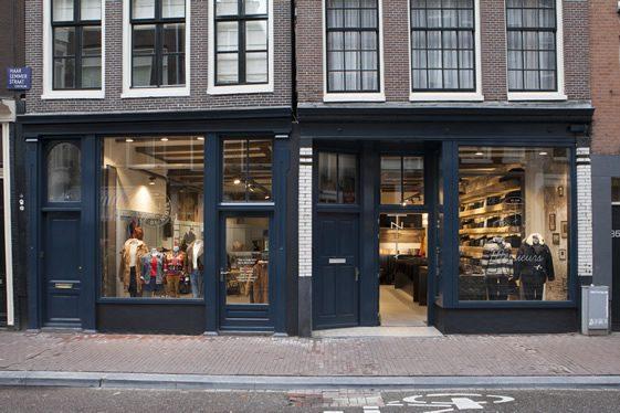 Tenue de Nîmes Haarlemmerstraat, Amsterdam