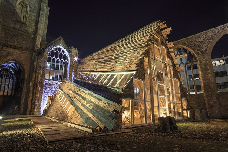Theaster Gates, Sanctum at Temple Church, Bristol