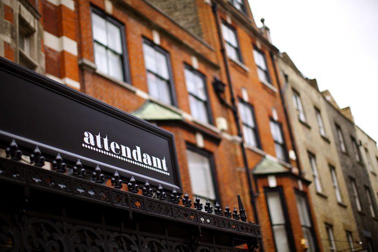 Attendant Espresso Bar, London