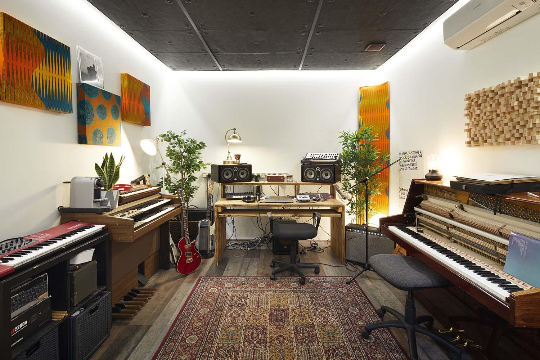 The Axis on Ormside, South Bermondsey London Music Studios