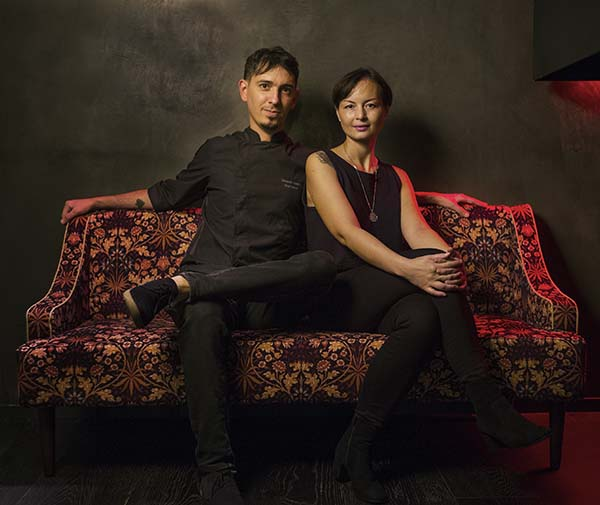 Sebastián Mazzola and Sussie Villarico