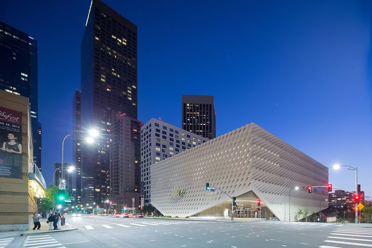 Grand Avenue in downtown Los Angeles