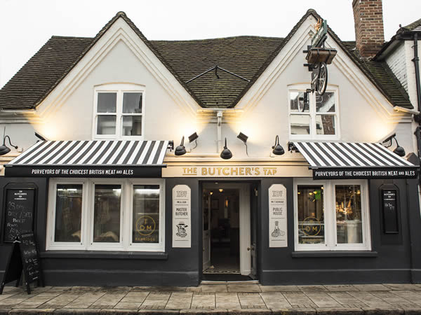 The Butcher's Tap Marlow, Tom Kerridge and Andy Cook Butchers and Bar