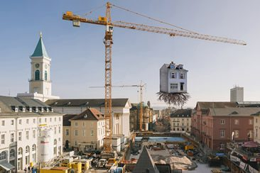 The City is the Star – Art at the Construction Site, Karlsruhe