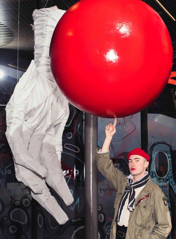 Charles Jeffrey, THE COME UP at NOW Gallery, LOVERBOY Art Exhibition