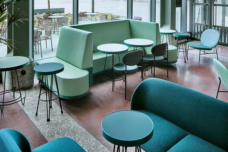 The Commons at The Student Hotel, Maastricht Designed by Studio Modijefsky