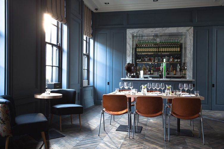 The dean hotel dublin for Best private dining rooms dublin