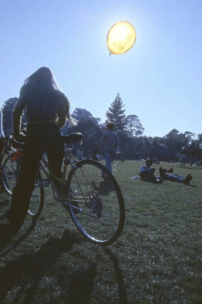 Golden Gate Park Love In, San Francisco February 1974