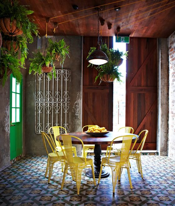 decoracao de interiores rusticaformer warehouse brought to life with