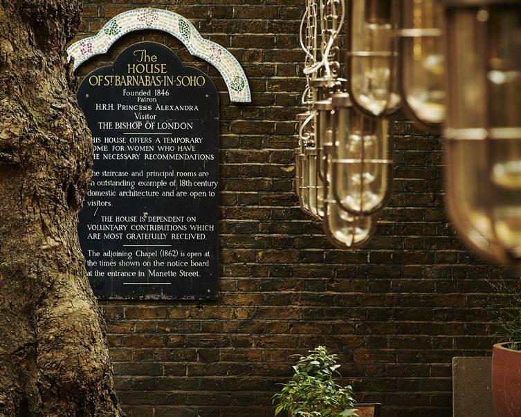 The House of St Barnabas — Soho, London