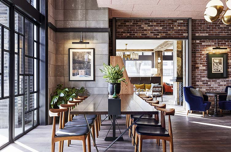 The Hoxton Portland Design Hotel, inc. Restaurant La Neta and The Basement Bar
