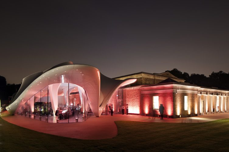 The Magazine Restaurant, Serpentine Gallery