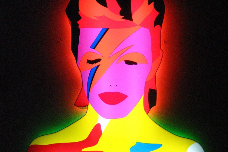 The Many Faces of Bowie Exhibition
