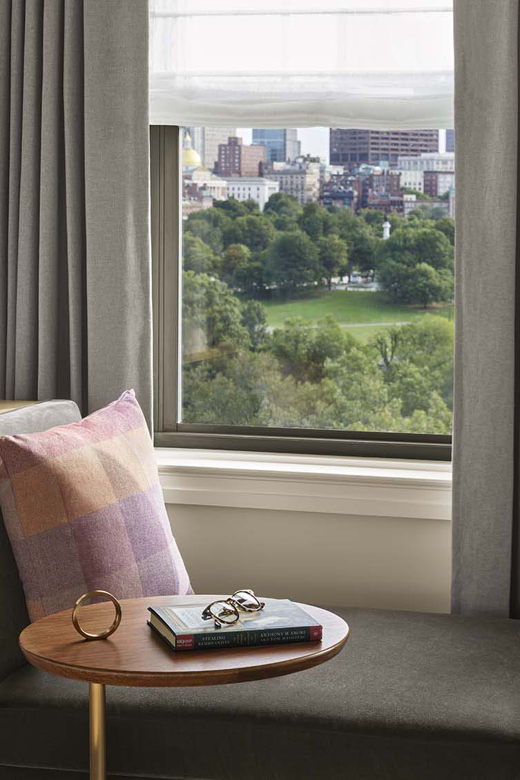The Newbury Boston Luxury Hotel Back Bay by Champalimaud Design