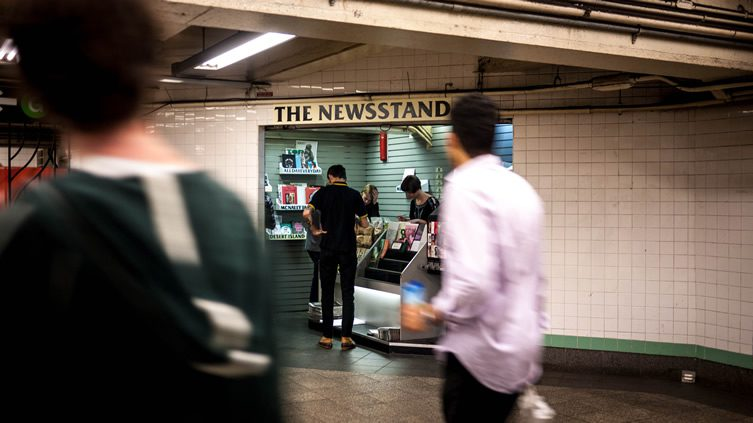 The Newsstand, by ALLDAYEVERYDAY