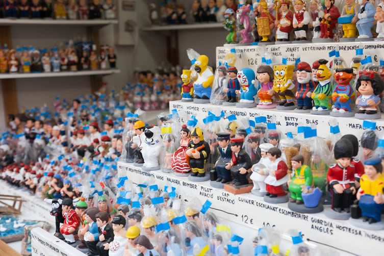 The many faces of Catalonia's iconic Caganer