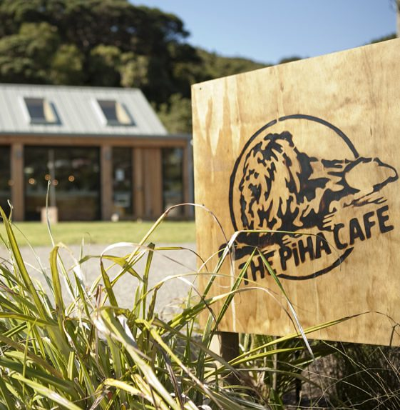 The Piha Café, New Zealand