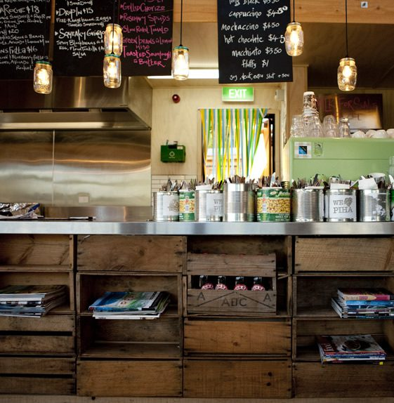 The Piha Cafe, Auckland, New Zealand