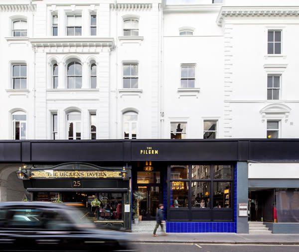 The Pilgrm Hotel, London Paddington Bar, Café, Restaurant and Hotel