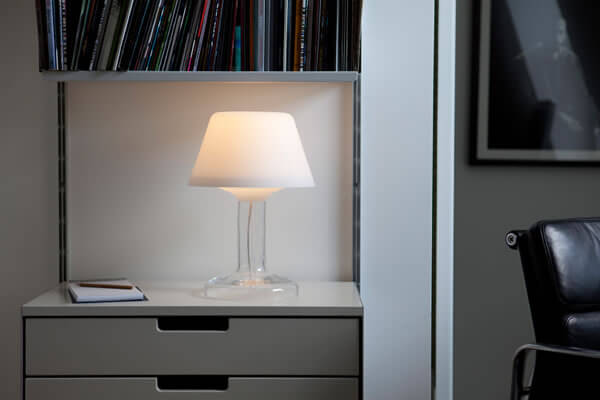 Decode's Anthony Dickens-designed Halcyon table lamps