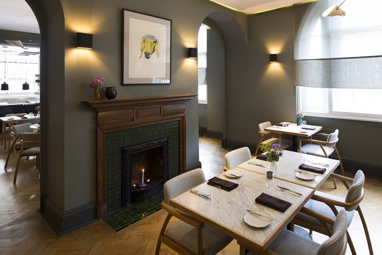 Typing Room at Town Hall Hotel — Bethnal Green, London