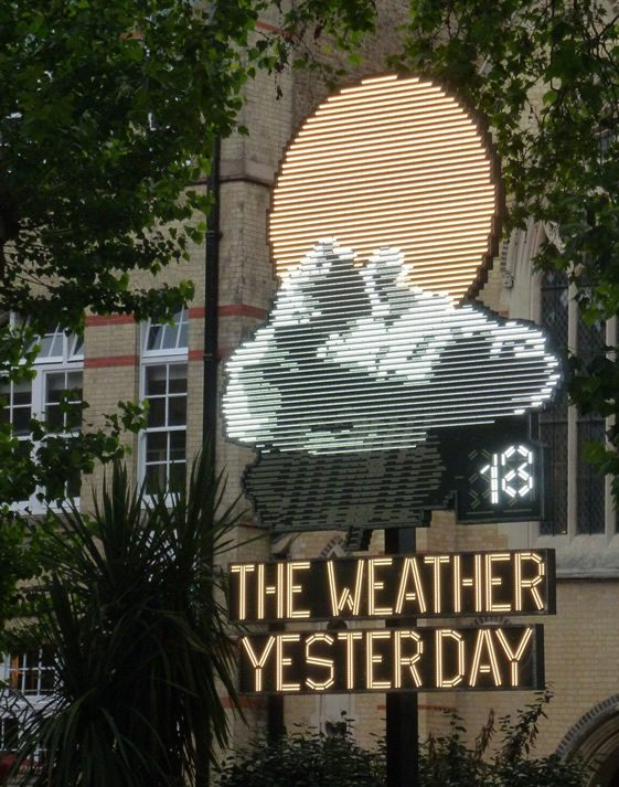 The Weather Yesterday, Troika