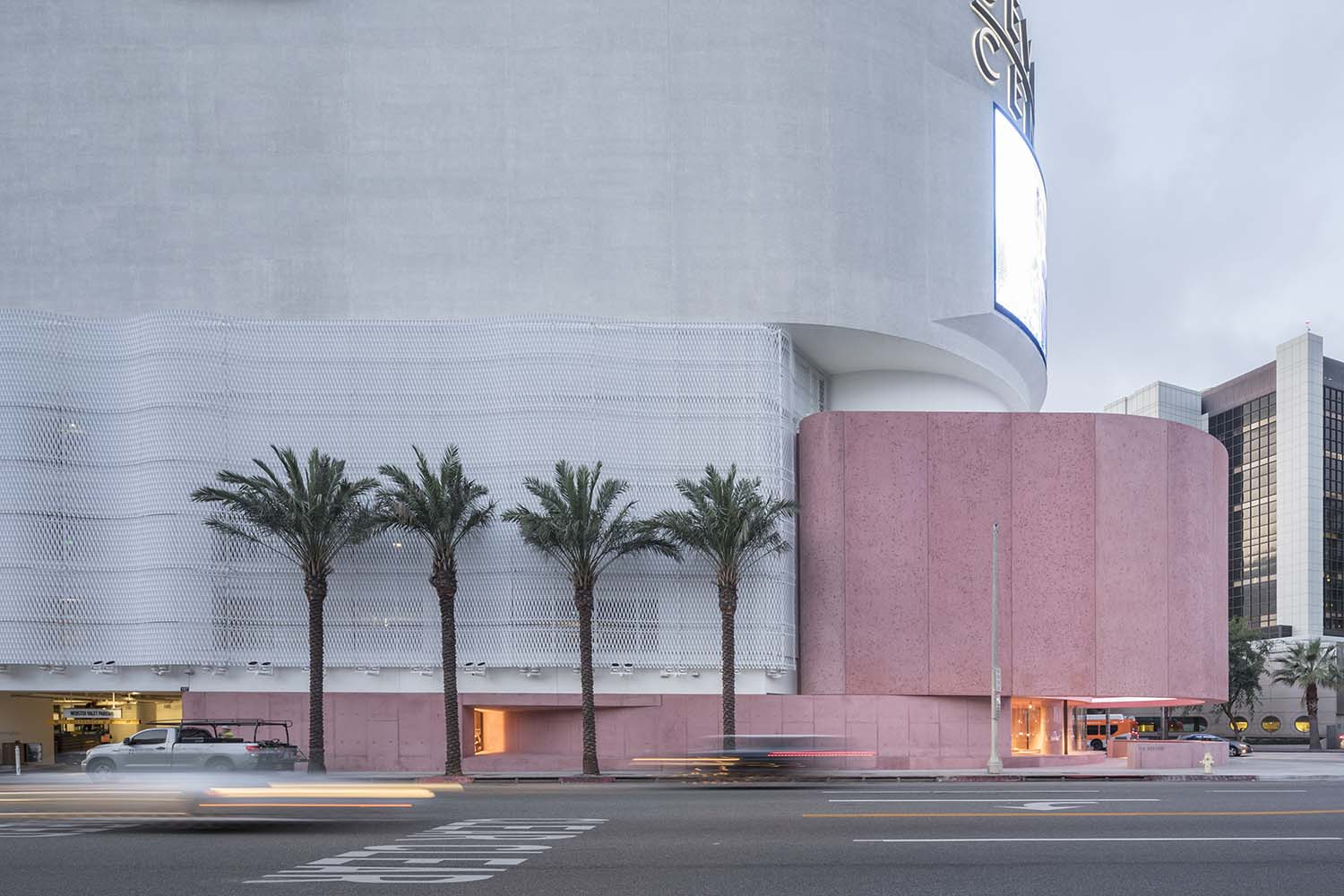 The Webster Los Angeles Is A New Icon With Its Candy Coloured Brutalism