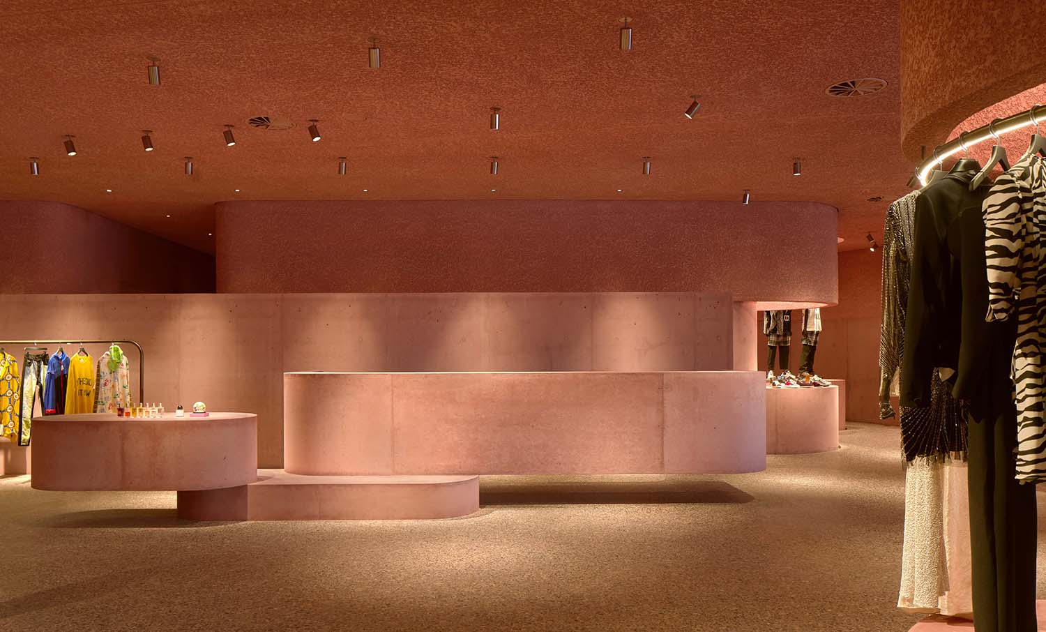 The Webster Los Angeles Flagship Store by David Adjaye Associates at the Beverly Center
