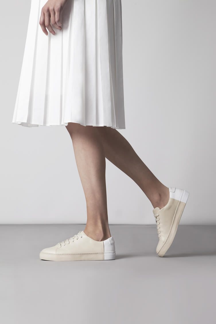 They new york bauhaus inspired minimalist footwear brand for Minimalist look