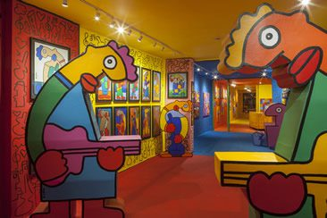 Thierry Noir, Jazz at Howard Griffin Gallery