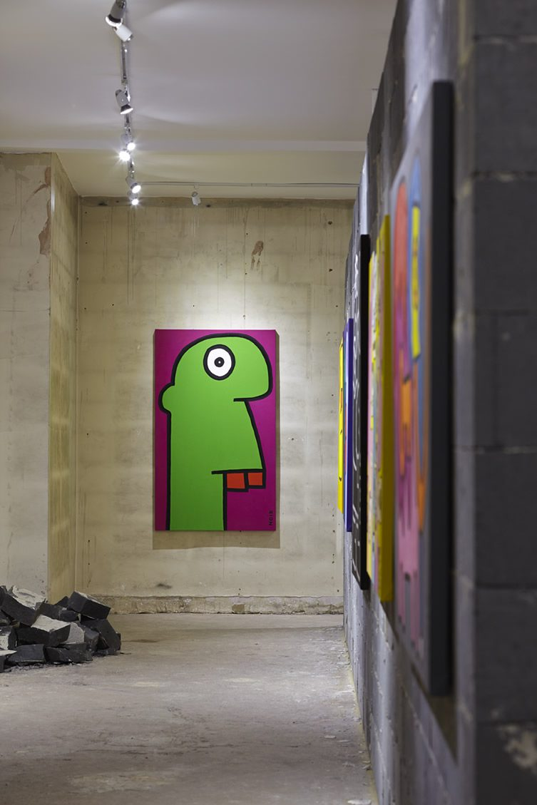 Thierry Noir — A Retrospective at Howard Griffin Gallery, London