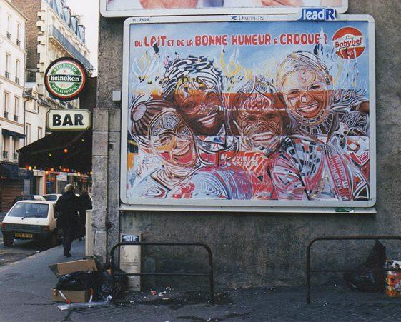 Thom Thom's Billboard Street Art
