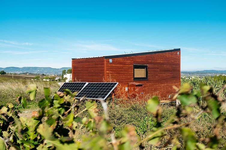 Stendhal Tiny House by Serena.House, Penedès Barcelona, Artcava Winery