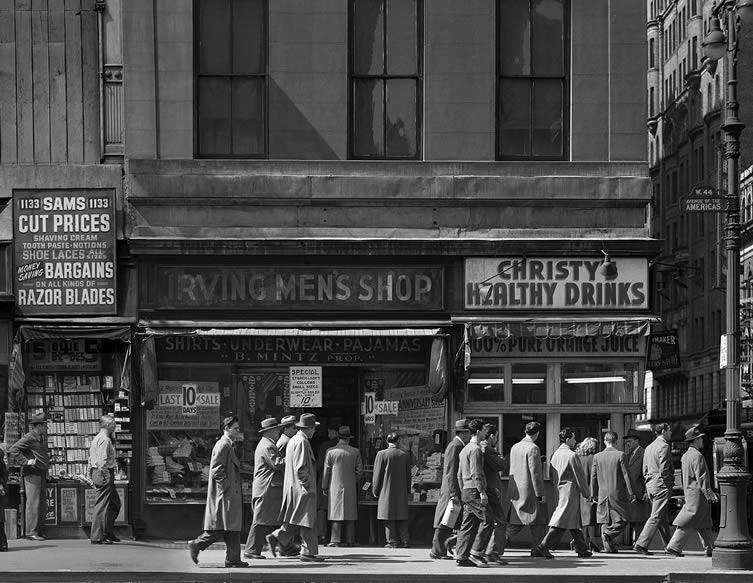 Sixth Avenue, 1946