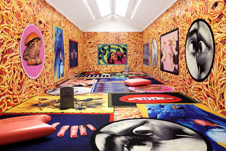 Seletti Toiletpaper Rugs Maurizio Cattelan And Pierpaolo