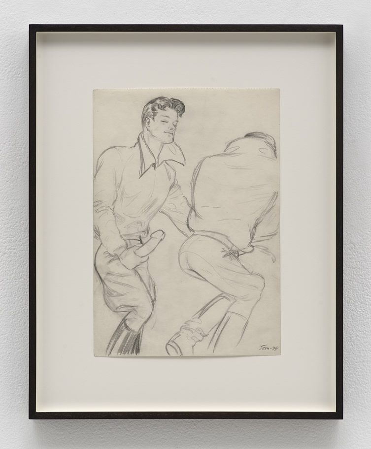 Tom of Finland at David Kordansky Gallery, Los Angeles
