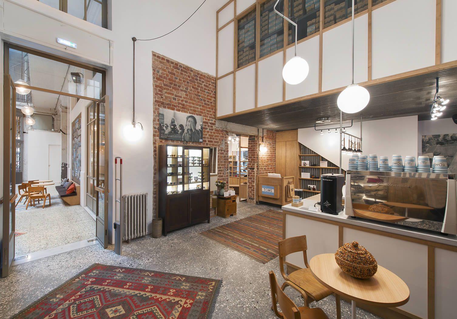 1a19d61ab2d TOMS Thessaloniki Flagship Store   Cafe   TOMS House