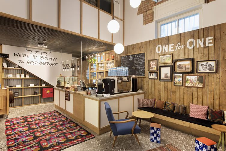 TOMS Thessaloniki Flagship Store & Cafe / TOMS House