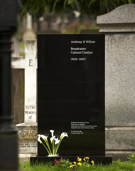 Tony Wilson Memorial, Peter Saville and Ben Kelly