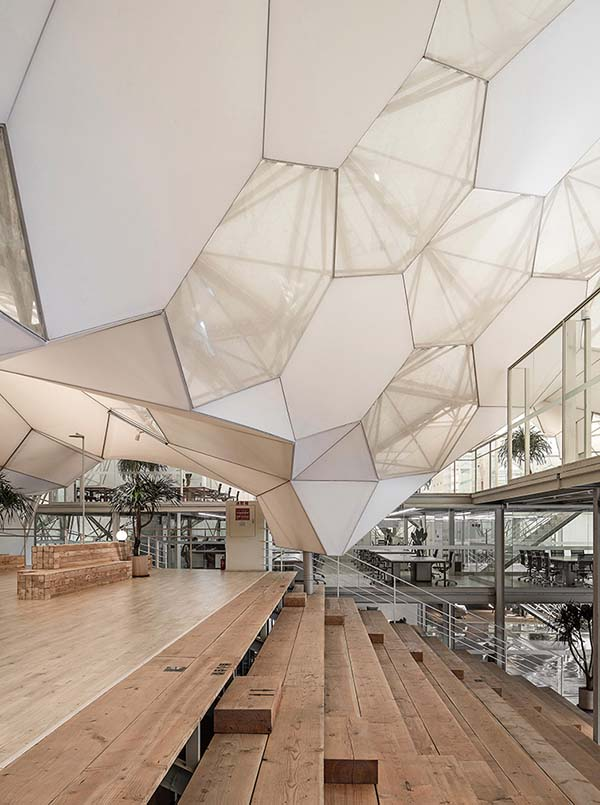 Creative Incubators Office Space by Rui Zhao is Winner in Interior Space and Exhibition Design Category, 2017 - 2018.