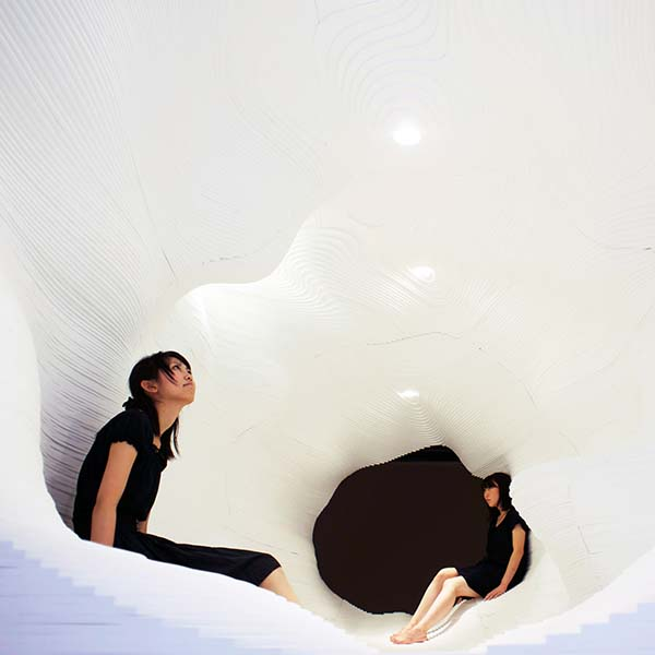 Artificial Topography Installation by Ryumei Fujiki and Yukiko Sato is Winner in Arts, Crafts and Ready-Made Design Category, 2011 - 2012.