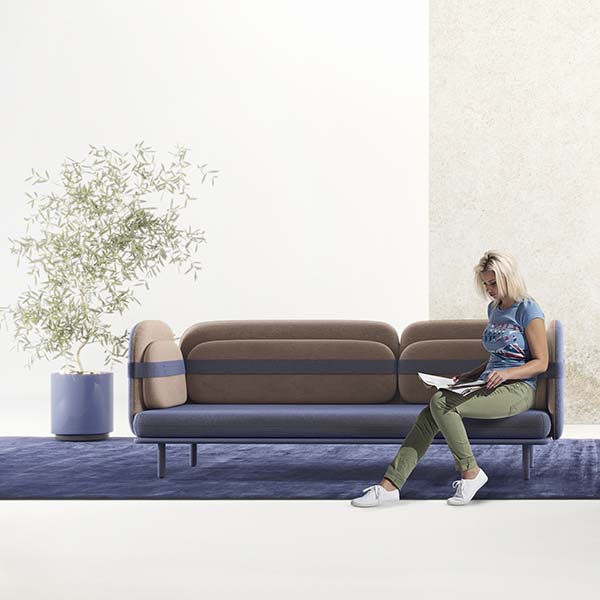 Bandage Sofa by Olga Bogdanova and Elena Prokhorova is Winner in Furniture, Decorative Items and Homeware Design Category, 2018 - 2019.